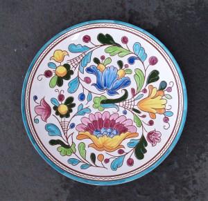 8 in. Italian Flower Garden Plate - $39.
