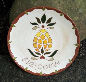 8 in. Pineapple Plate - $39.