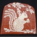 Squirrel Nature Tile- -$35.