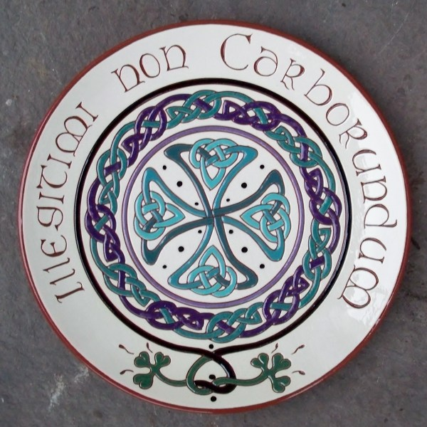 """Illegitimi non Carborundum - 10"""" Plate - $65."""