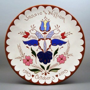 #7 - 10 in. Wedding Plate