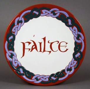 8 in. Celtic two-part Braid Plate - $ 39.