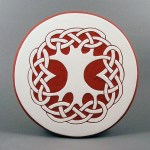 6 in. round Tree tile trivet - $20.