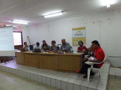 Mesa de discussão com Nilda Jacks