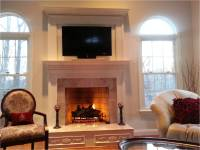 Fireplace Remodel: Before and After4 Pics! | Redecorating ...