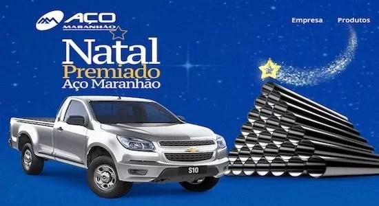 Promoção Natal Premiado Aço Maranhão - Rede da Promoção