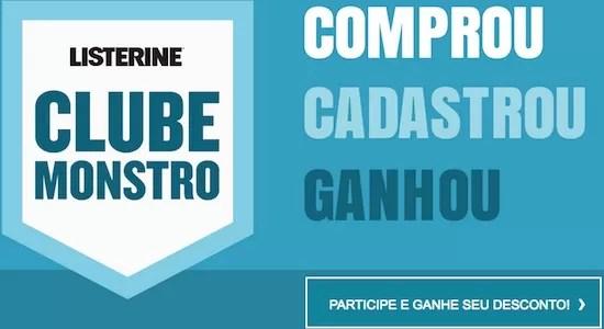Listerine Clube Monstro Comprou Cadastrou Ganhou - Rede da Promoção