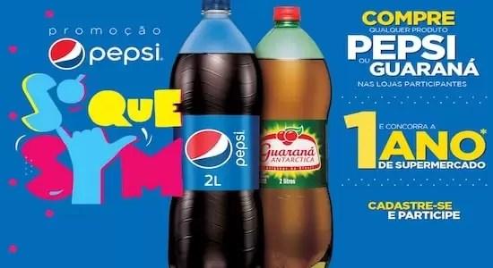 Cadastrar Promoção Pepsi Só Que Sim - Rede da Promoção
