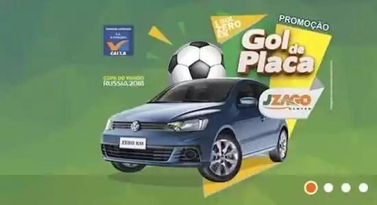 Promoção Gol de Placa Jzago Center - Rede da Promoção