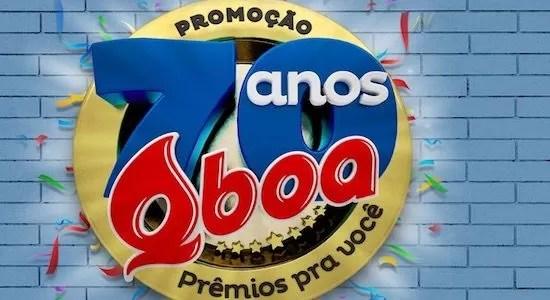 Como Participar Promoção 70 Anos Qboa Prêmio Pra Você - Rede da Promoção