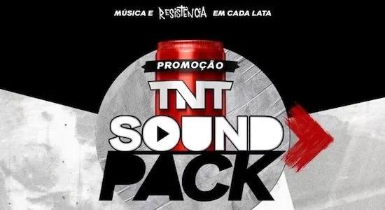 Cadastrar Promoção TNT Sound Pack Em Cada Lata