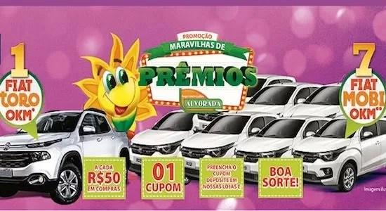 Supermercados Alvorada Promoção Maravilhas de Prêmios