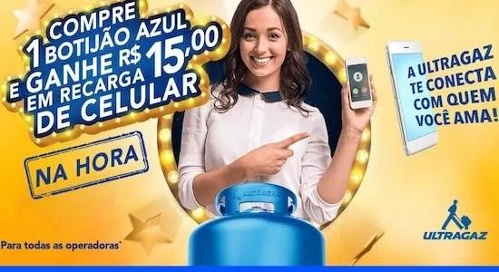 Ultragaz Promoção Compre 1 Botijão e Ganhe Prêmio na Hora - Rede da Promoção