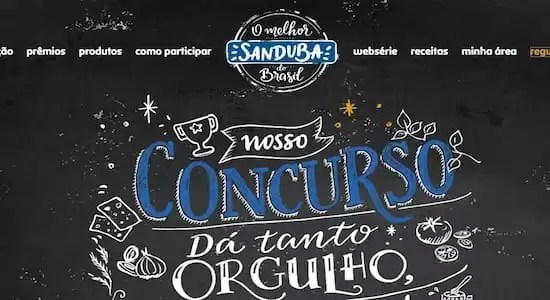 SANDUBA do Brasil Nosso Concurso Dá Tanto Orgulho
