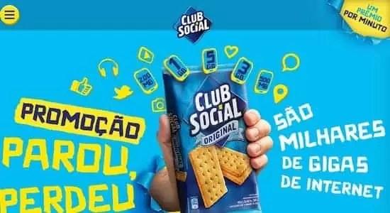 Club Social 2018 Promoção Parou Perdeu - Rede da Promoção