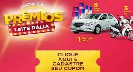 Promoção Show de Prêmios Leite Dália - Rede da Promoção