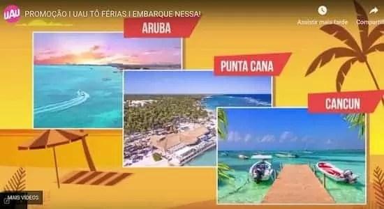 Promoção UAU 2018 Tô de Férias - Rede da Promoção