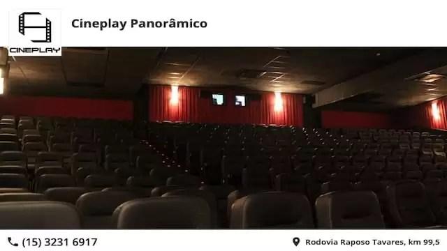 Sessão Premiada CinePlay Panorâmico Shopping Sorocaba