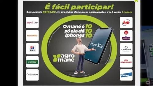 Promoção Mané é 10 Só Ele Sorteia 10 iPhones 10