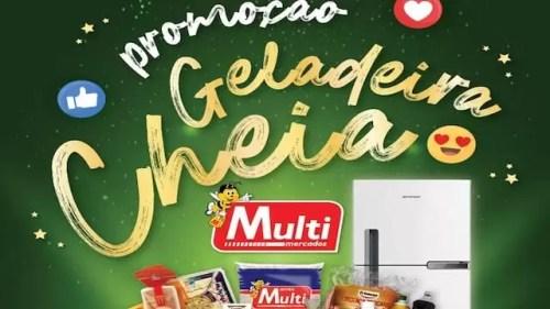 Promoção Geladeira Cheia Multimercados