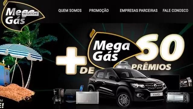 Promoção Mega Prêmios MEGAGÁS