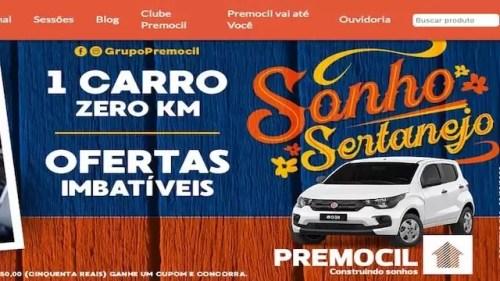 Promoção Sonho Sertanejo Premocil