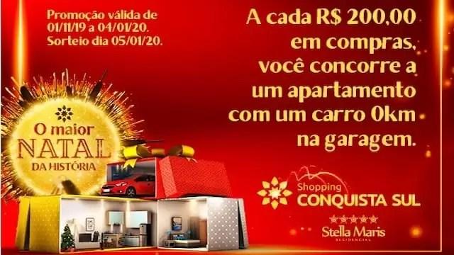 Shopping Conquista Sul Natal 2019