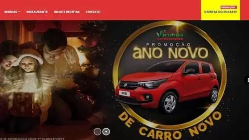 Promoção Ano Novo de Carro Novo Atacadão Vicunha