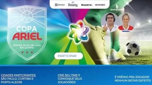 Promoção Copa Ariel