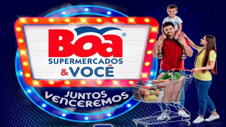 Promoção Boa Supermercados 2020 Boa e Você juntos venceremos