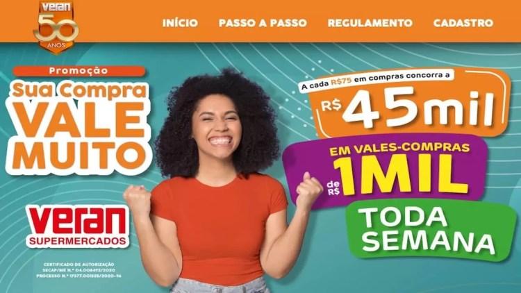 Promoção Veran Supermercados 2020 Sua Compra Vale Muito