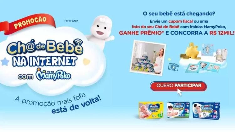Chá de Bebê na Internet com MamyPoko