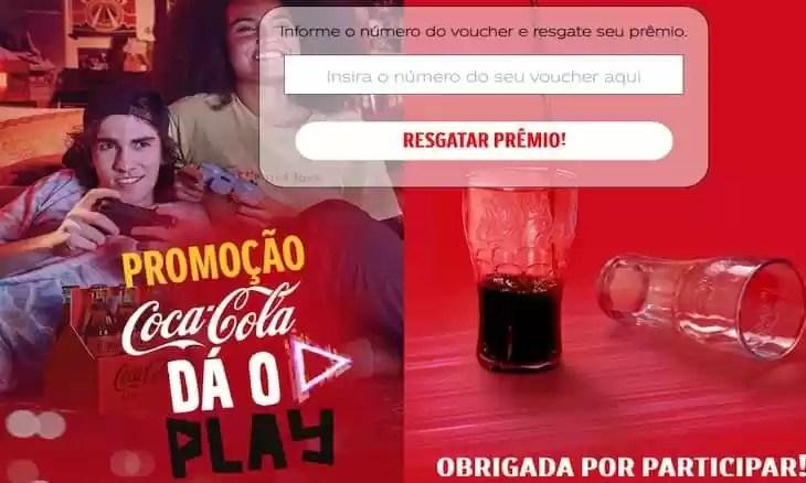Promoção Coca Cola 2021 Dá o Play