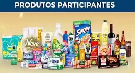 Produtos que participam da Promoção Comper 2020