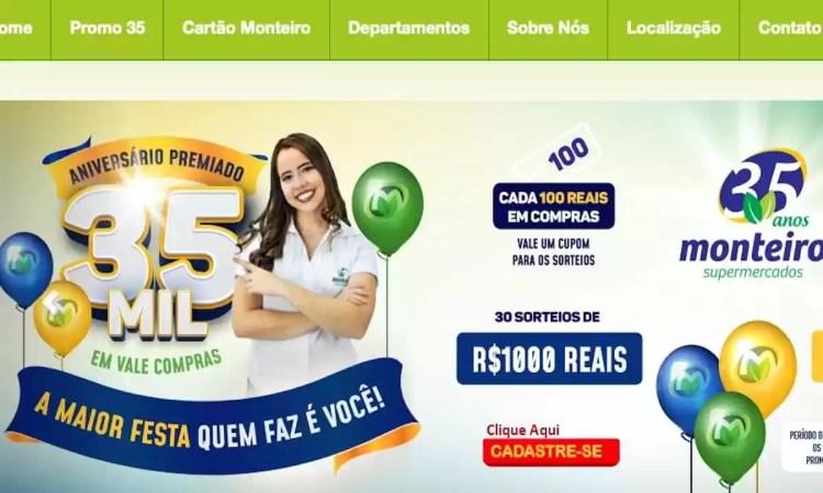 Promoção Monteiro Supermercados