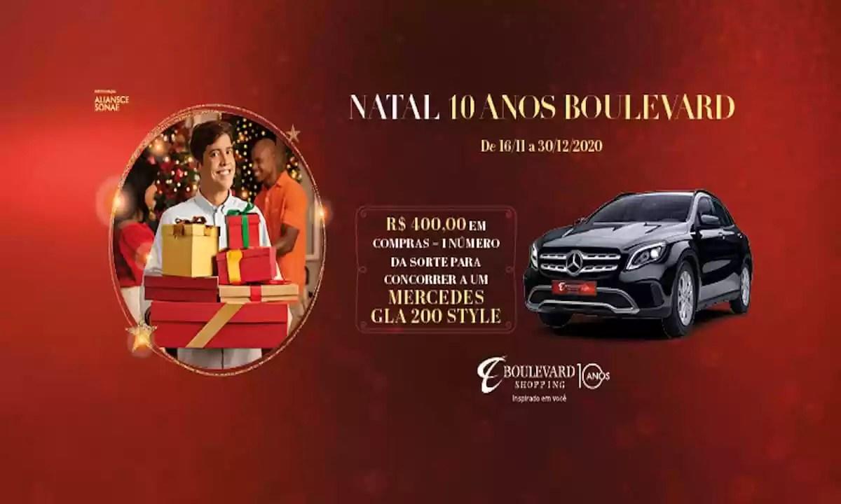Promoção Shopping Boulevard BH Natal 10 Anos