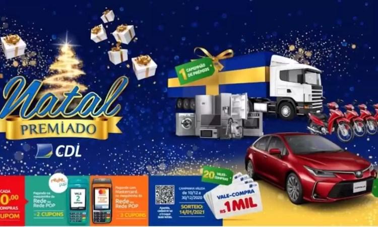 Promoção CDL Cuiabá Natal Premiado