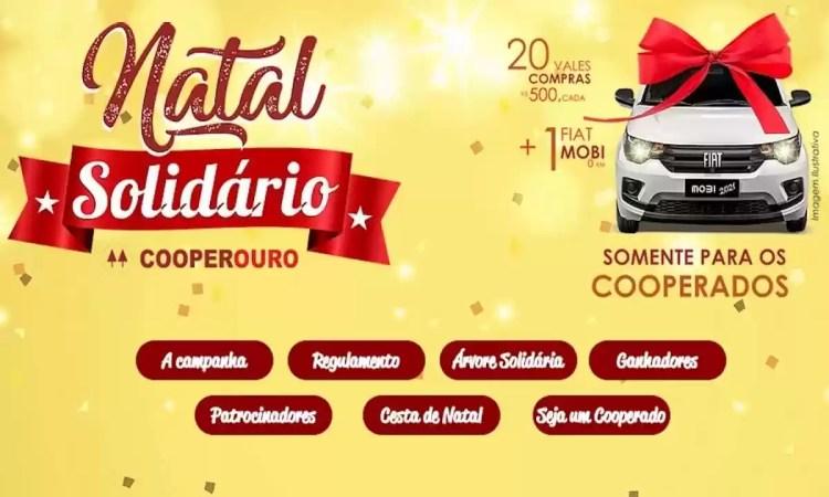 Promoção Cooperouro Natal Solidário 2021