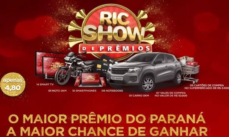 Promoção Ric Record TV Show de Prêmios Natal Antecipado