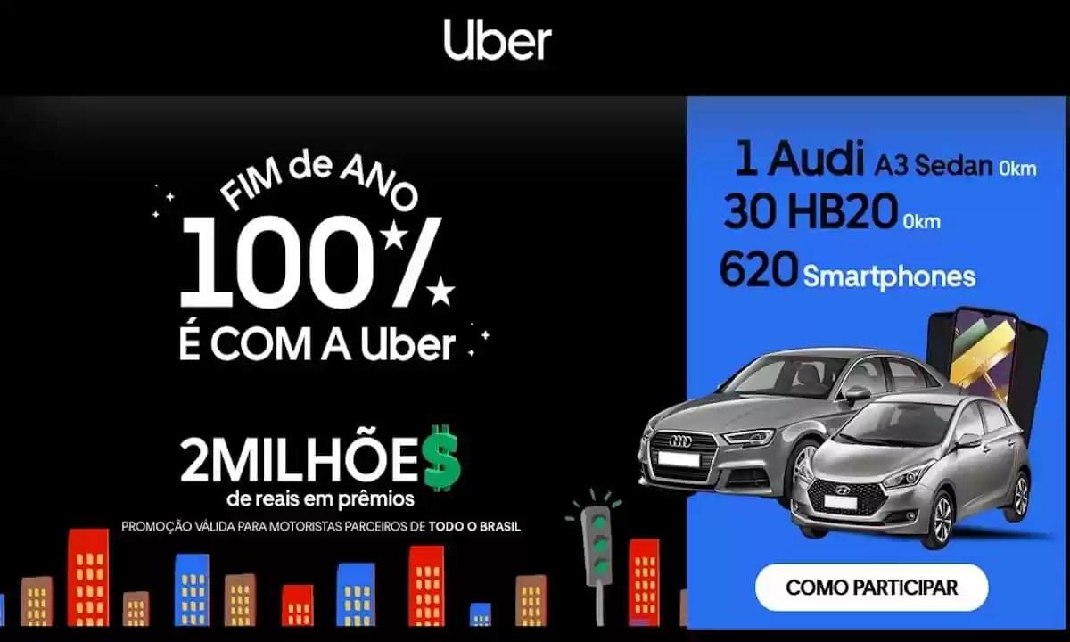 Promoção Uber Fim de Ano 100