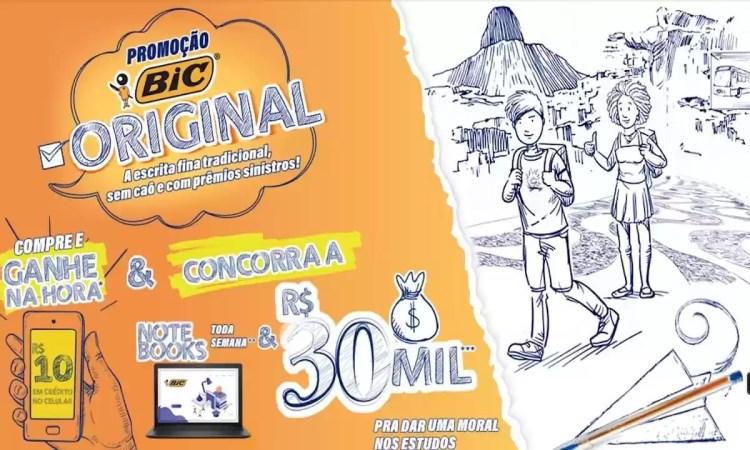 Promoção BIC Original 2021