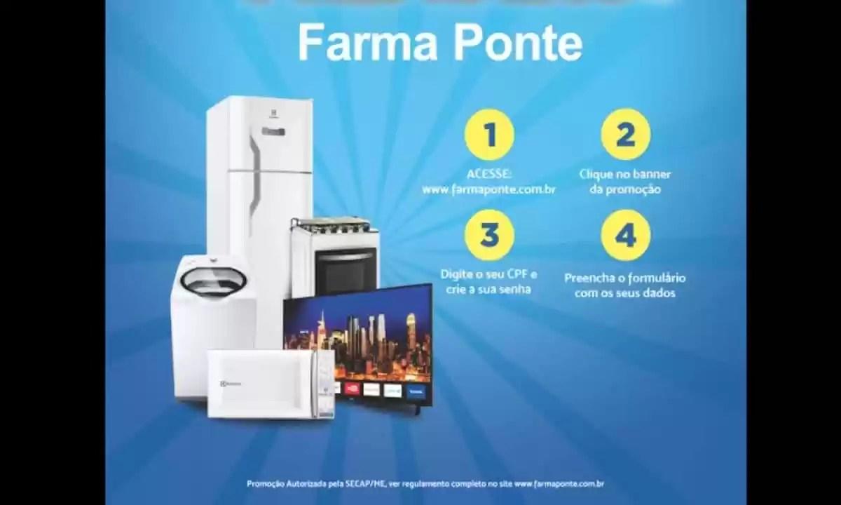 Promoção Farma Ponte Show de Prêmios 2021