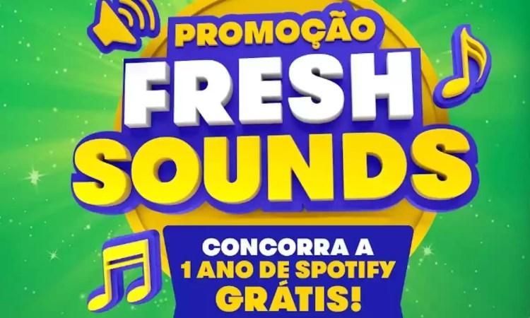 Promoção Mentos Fresh Sound 2021