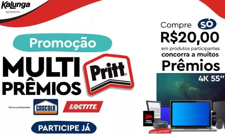 Promoção Pritt 2021 Multi Prêmios