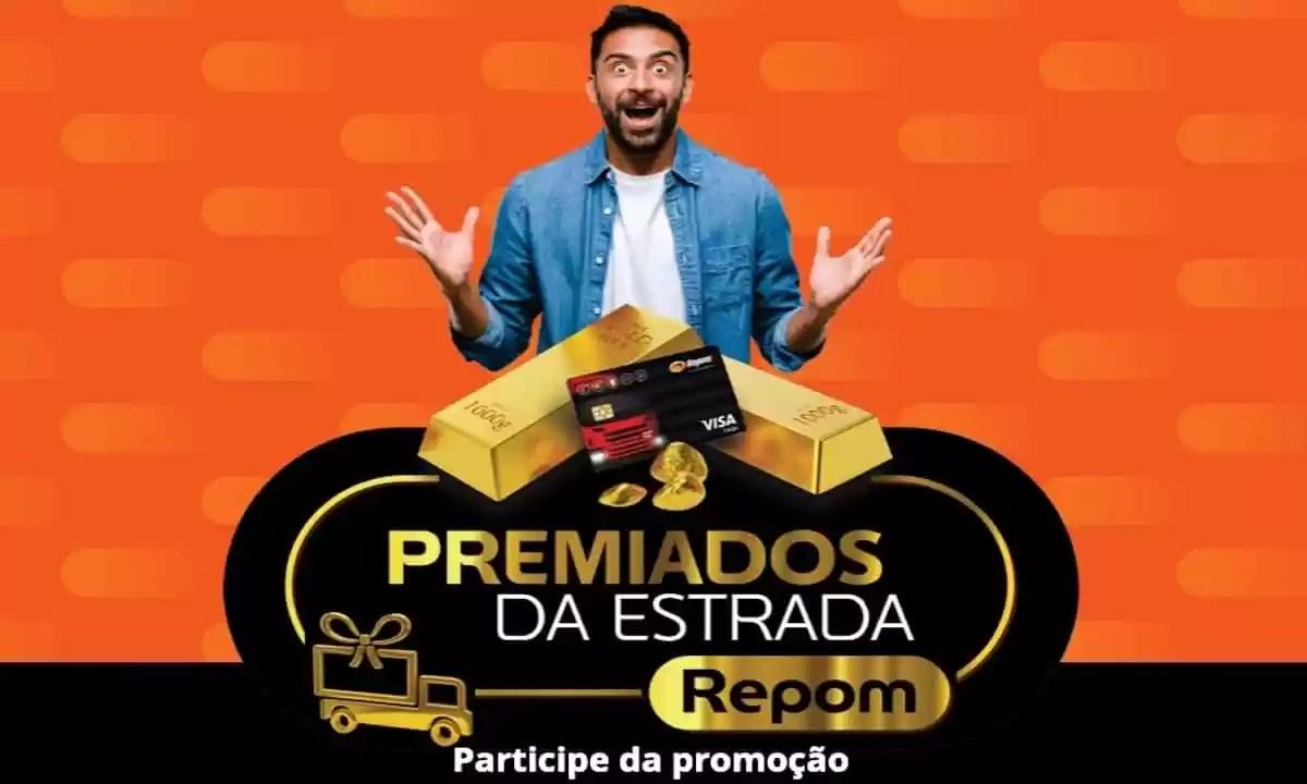 Promoção Repom 2021 Premiados da Estrada