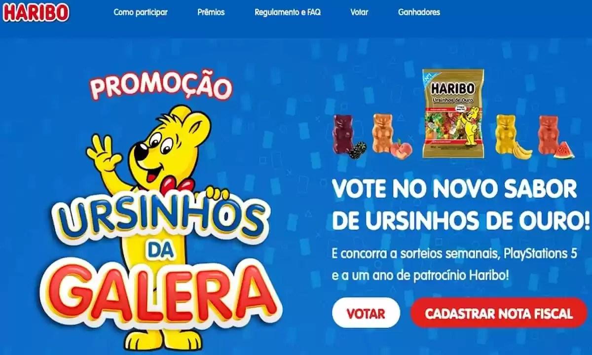 Promoção Haribo Ursinhos da Galera