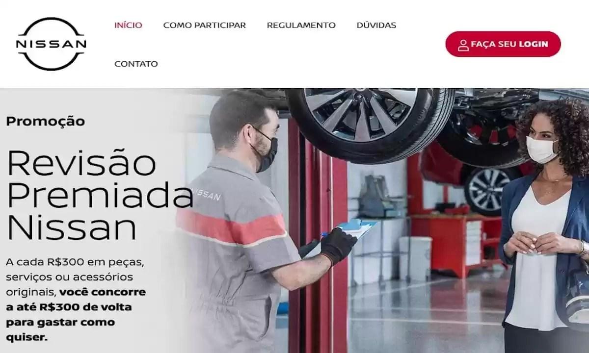 Promoção Nissan Revisão Premiada 2021