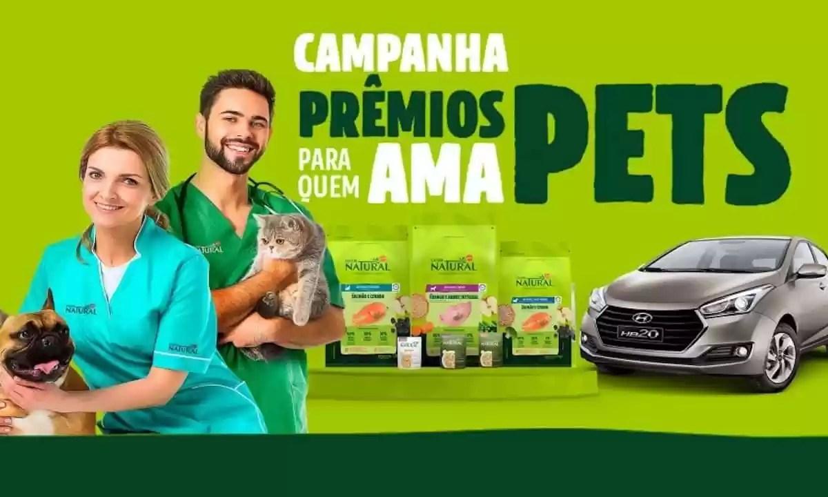 Campanha Prêmios Para Quem Ama Pets