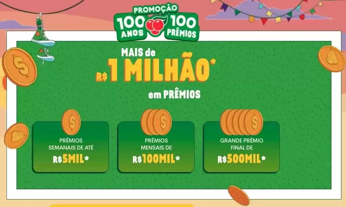 Promoção Guaraná 2021 100 Anos 100 Prêmios