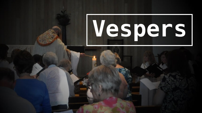 Vespers for the Baptism of our Lord - Church of the Redeemer
